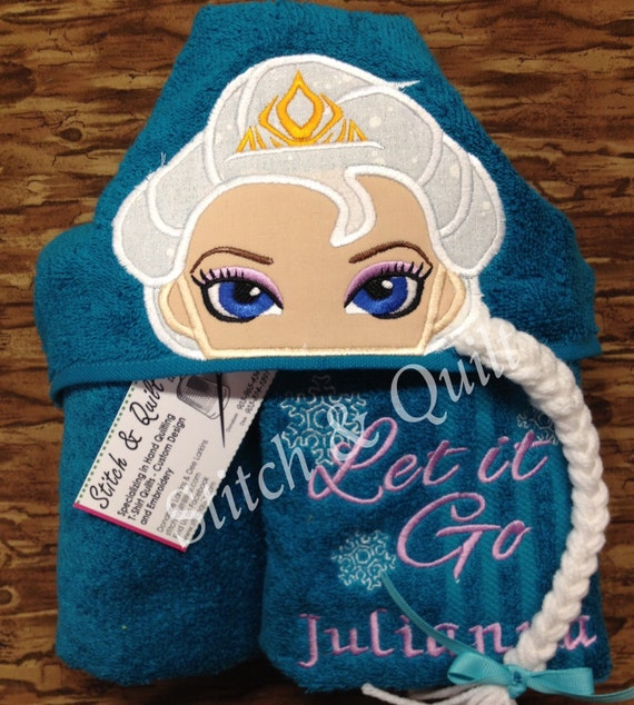 Personalized Towels For Kids Hooded Towel For Kids Hooded