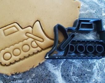 3D Printed Bulldozer Cookie Cutter