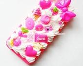 Handmade Decoden iPhone 5 / 5S Case Kawaii Kitsch
