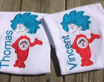 Thing 1 or Thing 2 Shirt
