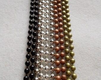 Antique Ball Chain 2.5mm