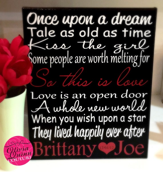 Disney Song Love Story Quote