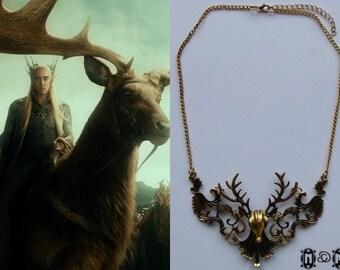Thranduil Elk Necklace VI
