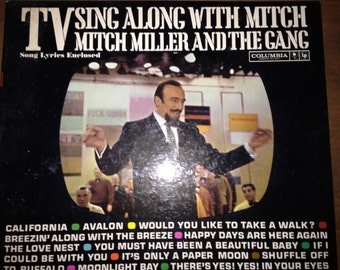 TV Sing Along With Mitch - Mitch Miller and The Gang - vinyl record