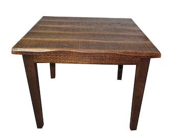 "Barnwood 30"" High Table with 40X40 Top"
