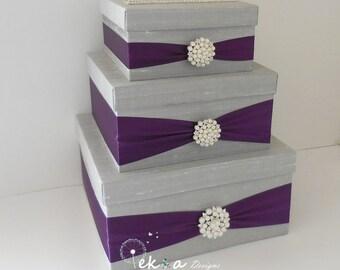 Best Purple Wedding Card Box Contemporary - Styles & Ideas 2018 ...