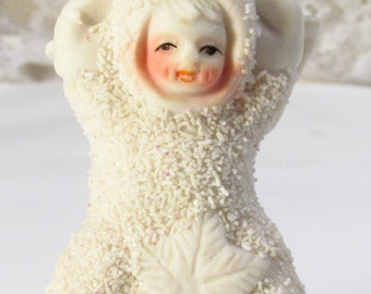 Vintage snow babies K's Collection snow angel trinket box