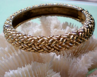 Vogue Bijoux Gold tone Hinge Bracelet - 3632