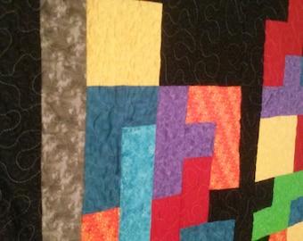 Full Size Tetris Quilt