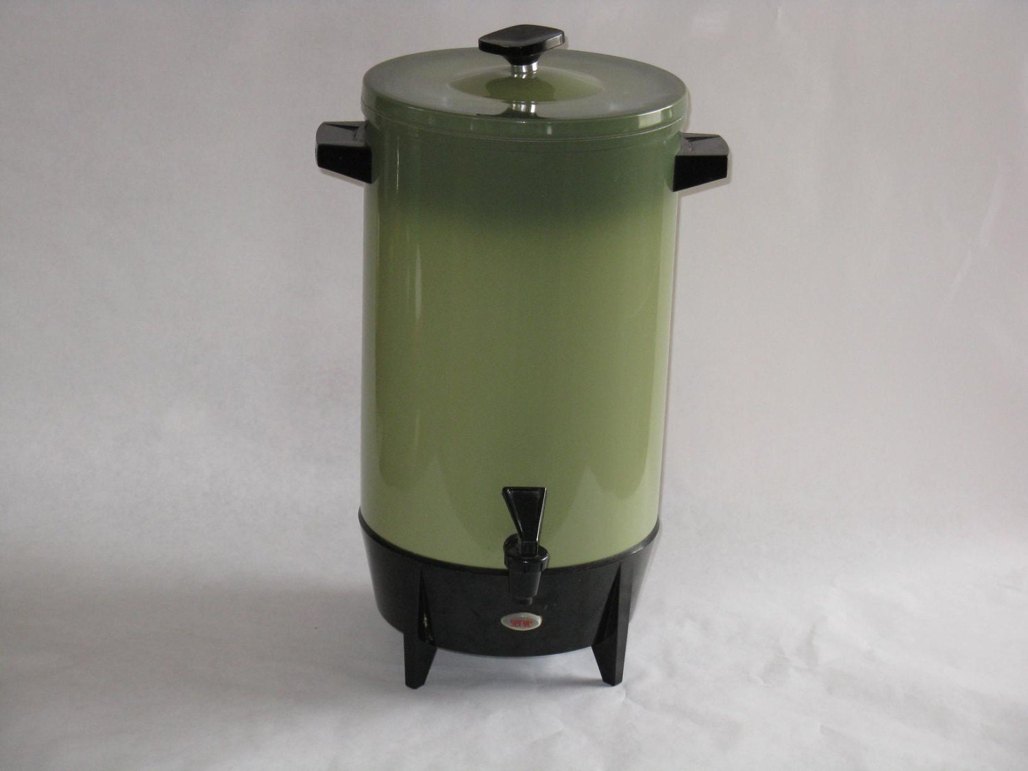 Large Electric Coffee Maker : Large vintage West Bend coffee maker server avocado green