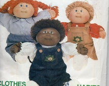 Cabbage Patch Clothes Vintage 1984 Pattern Butterick 6508