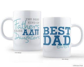 ADPi Alpha Delta Pi Best Dad Mug Sorority Father Mug