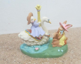Kathy Jeffers Duck Goose Figurine
