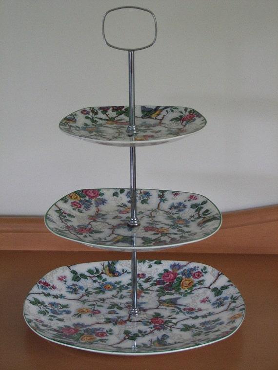 Image Result For Midwinter Stylecraft Bird Chintz Cake Stand