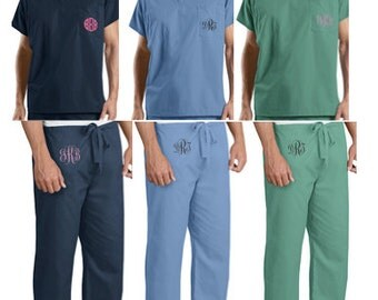 Monogrammed/Personalized Scrubs