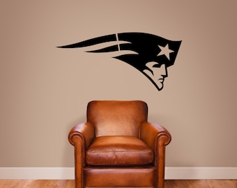 New England Patriots Vinyl Wall Decal Sticker Graphic
