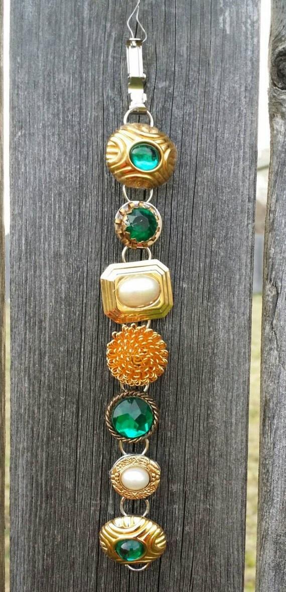 """Vintage Earring Bracelet Small size 6"""""""
