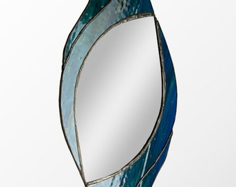 Stained Glass mirror Swirl design