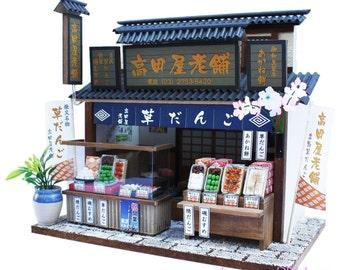 Maison de poupée à la main kit japonais Retro Store [Boutique Lea] Billy Japan