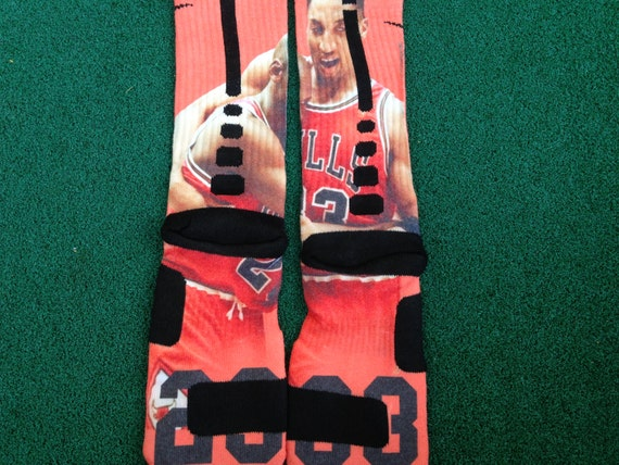 Flu Game Socks Socks ◅ ▻ Jordan Flu