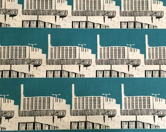 Fabric - Park Hill Bold - Teal