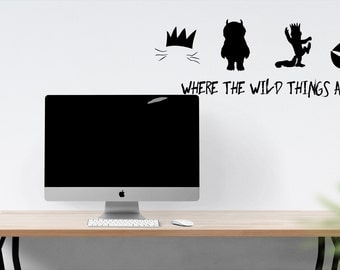 Where the wild things are Wall Decal