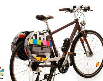 PVC pannier POPCYCLE bicycle bag
