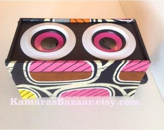 Ankara Pink Love Portable Speaker