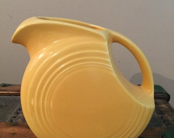 Vintage Fiesta Juice Pitcher