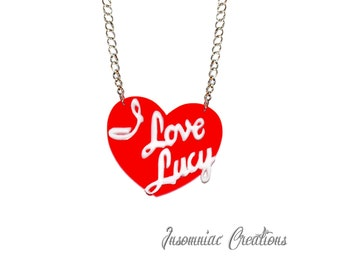 I Love Lucy Necklace - The I Love Lucy Show Lucille Ball