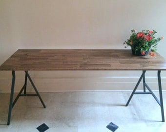 Large Dining Table Long Dining Table Wood Dining Table Rustic Table Recla