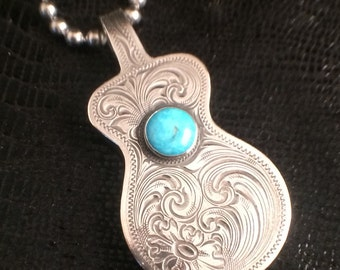 Rockin Out Guitar Pendant