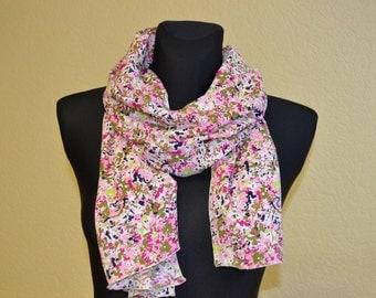 """Silk scarf  """"MARLENE"""" -  scarf for women -  scarves"""
