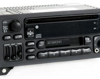 dodge chrysler jeep 2002 2006 cd cassette aux mp3 input. Black Bedroom Furniture Sets. Home Design Ideas