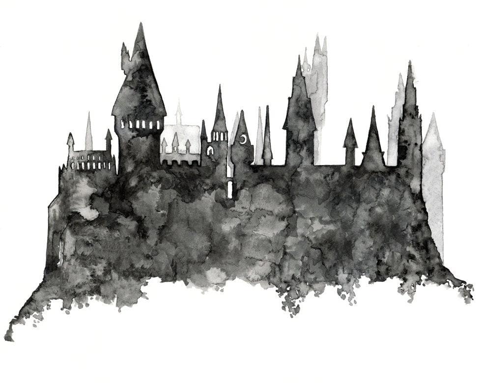 Hogwarts Painting Prin...