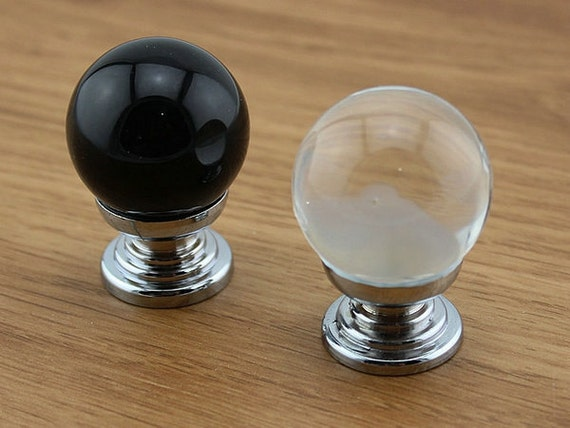 kitchen cabinets with crystal knobs glass knob knobs black clear dresser knob drawer knobs 21404