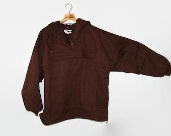 Brown parka