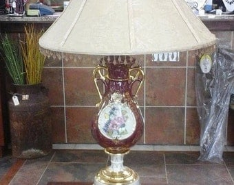 Vintage Ornate Victorian Lamp Reduced!!! Was 79.99
