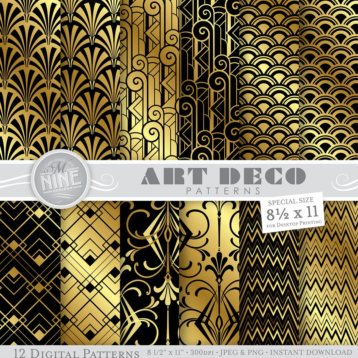 art deco essay Art deco also highlights geometric forms, for example, sunburst, spheres, chevrons, polygons, zigzags, trapezoids, and rectangles motifs there is an organization of the components in symmetrical designs.