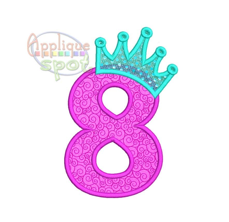 Crown Number 8