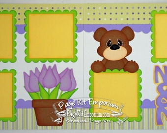 Scrapbook Page Kit Mother's Day Nana & Me 2 page Scrapbook Layout 124