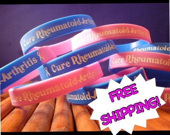 Rheumatoid Arthritis Awareness Wristband
