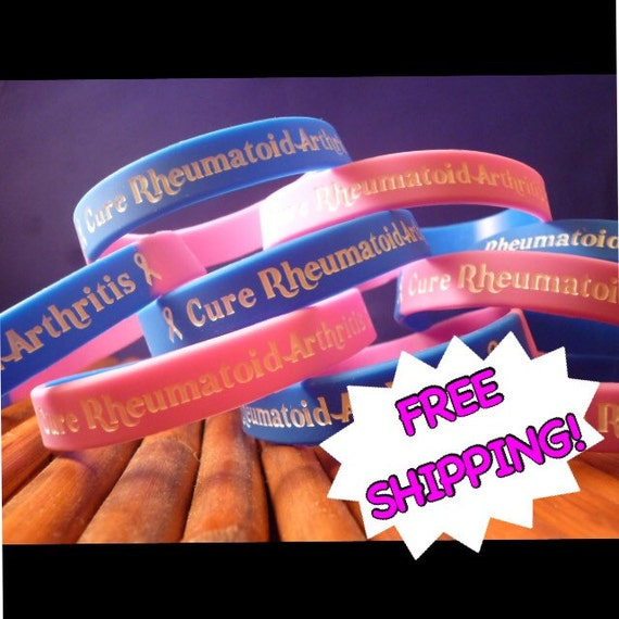 Rheumatoid Arthritis Awareness Wristband