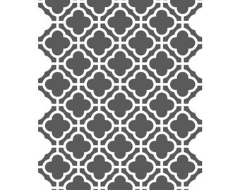 Moroccan Stencils Template -small scale- For Crafting Canvas DIY wall decor #9