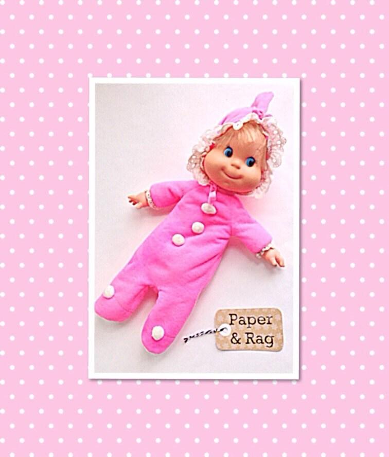 1970 Baby Beans Vintage Mattel Toys Doll Bitty