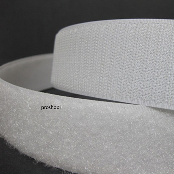 1 velcro adhesive 15 ft sticky back hook and loop tape by proshop1. Black Bedroom Furniture Sets. Home Design Ideas
