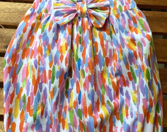Toddler Girl Bubble Romper With Bow