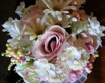 Bridal bouquet, Victorian style bridal bouquet, Spring bridal bouquet