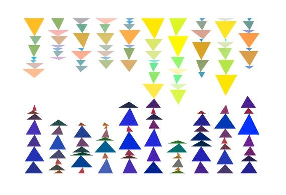 "Math Art Digital Print - ""domino"""