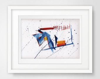 modern art print, abstract giclee, modern giclee, art for bedroom, modern bedroom decor, modern art, abstract art